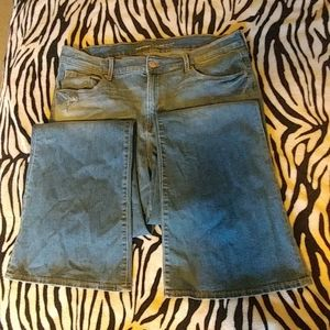 Old Navy Stonewashed Flare Jeans
